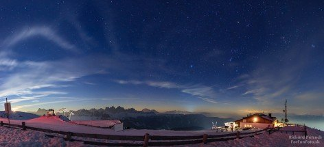 Mondaufgang bei der Plosehütte
